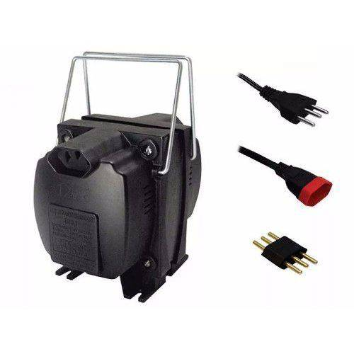 Transformador Voltagem Force Line 1500 Va 110-220 e 220-110