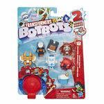 Transformers Botbots Série 1 Galera Atleta - Kit com 8 Brinquedos 2 em 1 Surpresa - Hasbro