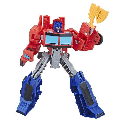 Transformers Cyberverse Classe Warrior Optimus Prime - Hasbro