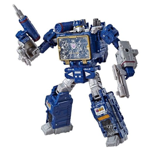 Transformers Generations War For Cybertron Voyager Soundwave - Hasbro Transformers Generations War For Cybertron Voyager Soundwave - Hasbro