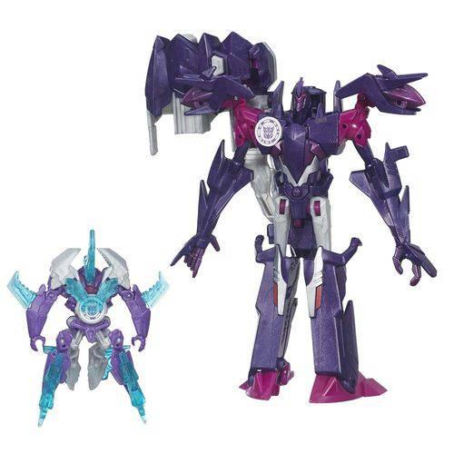Transformers Mini-Con Deployer Decepticon Fracture e Airazor - Hasbro 1977