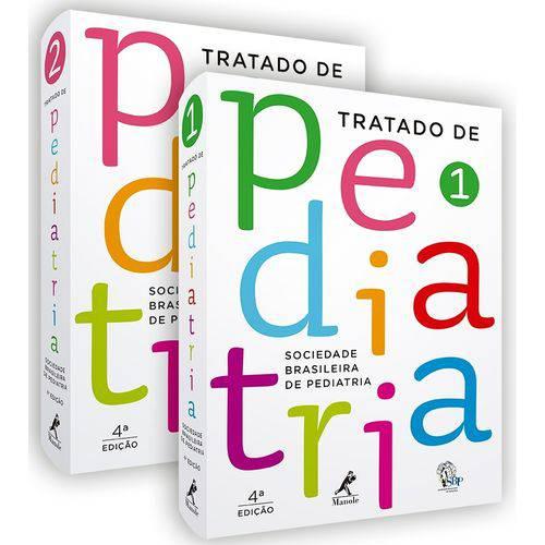 Tratado de Pediatria 4ª Edição - 2 Volumes