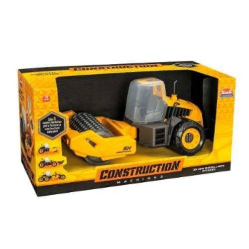 Trator Infantil Construction Machines Compactor Usual Brinquedos