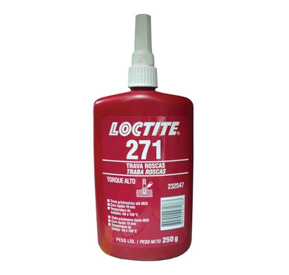 Trava Rosca Loctite 271 250ml - Alta Resistência 232547