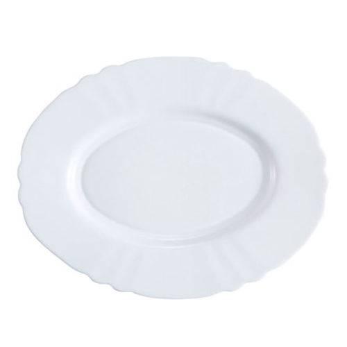 Travessas de Vidro Branco 35 Cm
