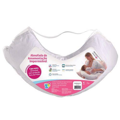 Travesseiro Almofada de Amamentação Impermeável 21x86x38cm Fibrasca Z4107