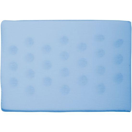 Travesseiro Antissufocante Liso - Azul