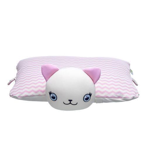 Travesseiro Bichinho Baby Pil Gatinha Ágata