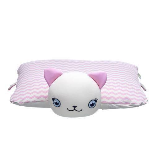 Travesseiro Bichinho Gatinha Ágata - Baby Pil
