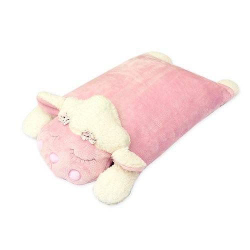 Travesseiro Carneirinho Rosa