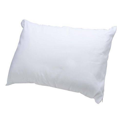 Travesseiro com Enchimento de Silicone - Revestido com Tecido 100% Algodão