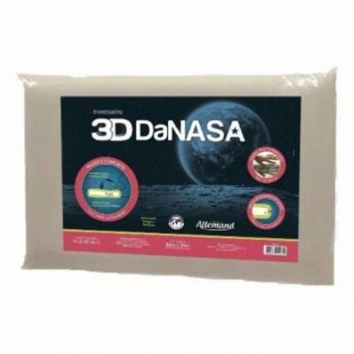 Travesseiro 3D da Nasa Viscoelástico Allemand DT3240