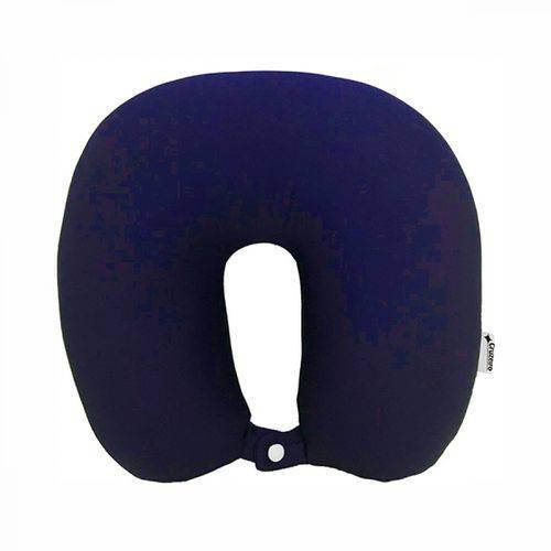 Travesseiro de Pescoço Cruzeiro Azul Marinho
