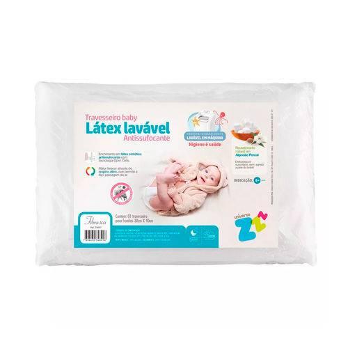 Travesseiro Látex Baby Antissufocante - Fibrasca Z4891