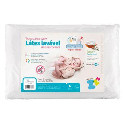 Travesseiro Látex Baby Antissufocante - Fibrasca