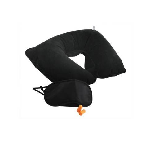 Travesseiro Mascara Protetor Kit para Viagem