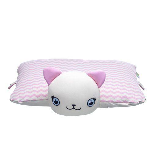 Travesseiro Naninha Bichinho Gatinha Ágata Baby Pil 99020g