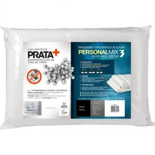 Travesseiro Personal Mix 3 Block Base System com Protetor de
