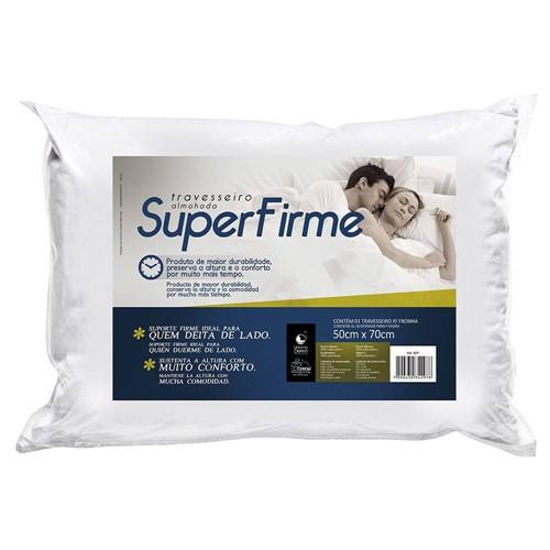 Travesseiro Superfirme Fibrasca 50x70