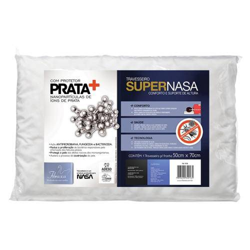Travesseiro Supernasa Íons de Prata Antiácaro 4016 Fibrasca