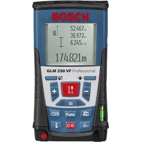 Trena à Laser VF 0.05 a 250mts - GLM 250 - Bosch