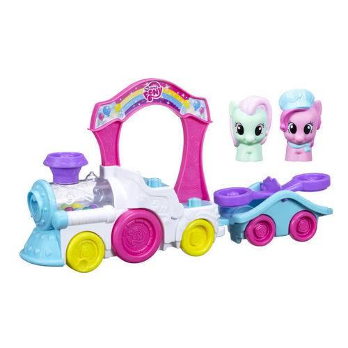 Trenzinho da Pinkie Pie My Little Pony Playskool - Hasbro