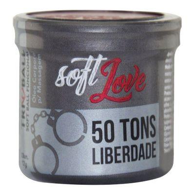 TRIBALL BOLINHA 50 TONS DE LIBERDADE 12G 03 UNIDADES SOFT LOVE SEX1011 Variados
