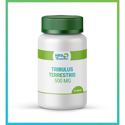 Tribulus Terrestris 500mg Cápsulas Vegan 60cápsulas