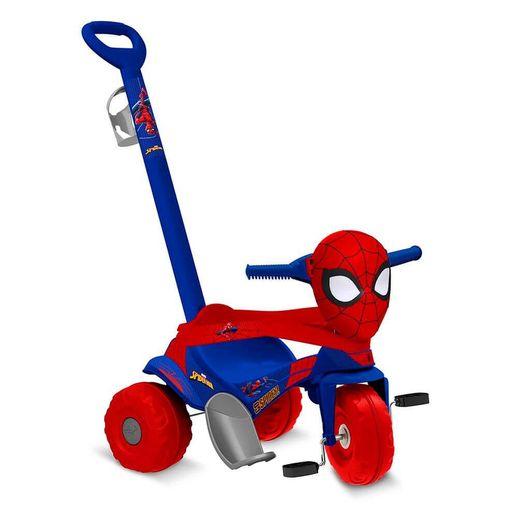 Triciclo de Passeio e Pedal Homem Aranha - Bandeirante