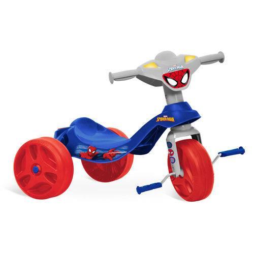 Triciclo Homem Aranha Bandeirante Tico Tico Azul