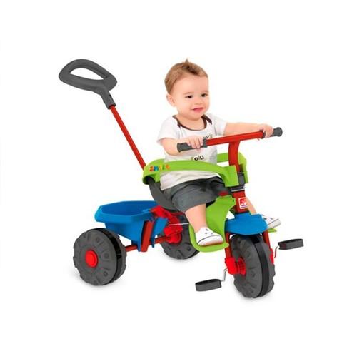 Triciclo Smart Plus Azul Bandeirante