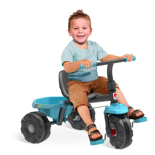 Triciclo Smart Plus Azul - Bandeirante