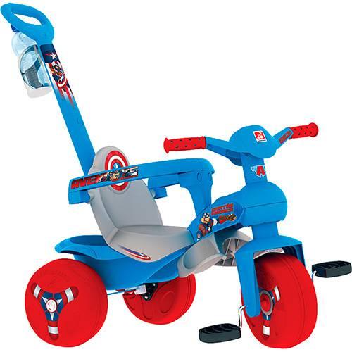 Triciclo Veloban Passeio Capitão América - Brinquedos Bandeirante