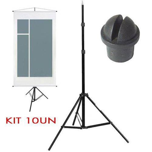 Tripe Porta Banner - Ls230 - 2,30m Kit 10 Unidades