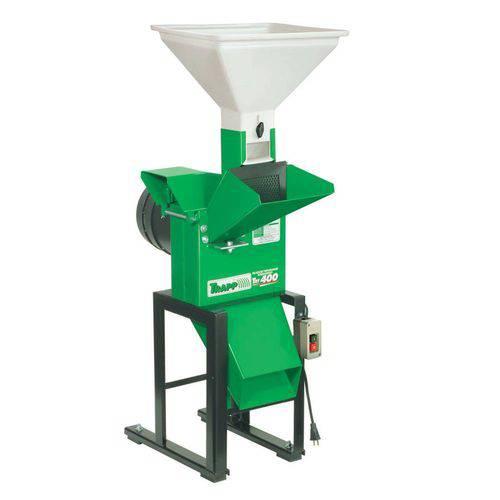 Triturador de Milho, Grãos e Forrageiro Trf 400 3cv 110v Monofásico