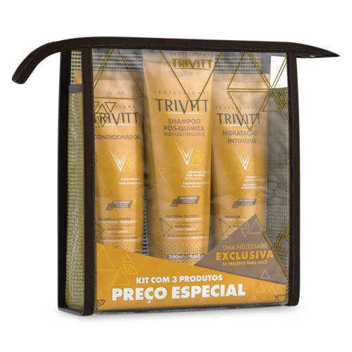 Trivitt Kit Home Care com Hidratação Intensiva