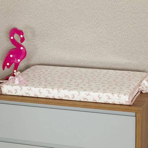 Trocador de Bebê Flamingo Rosê