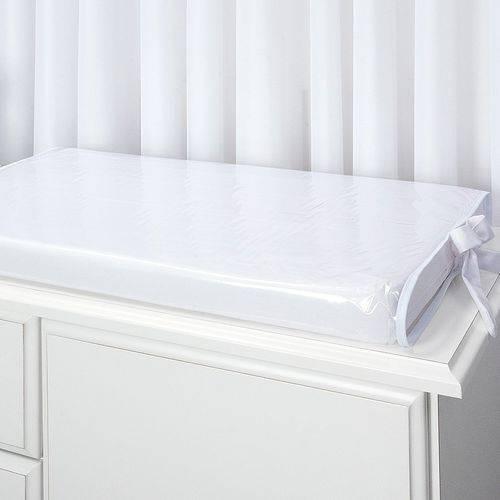 Trocador Plastificado Pratic Branco 2 Peças