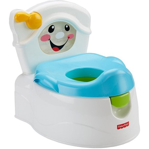 Troninho Toilette Descarga Divertida Fisher-Price Y8702 - FISHER-PRICE