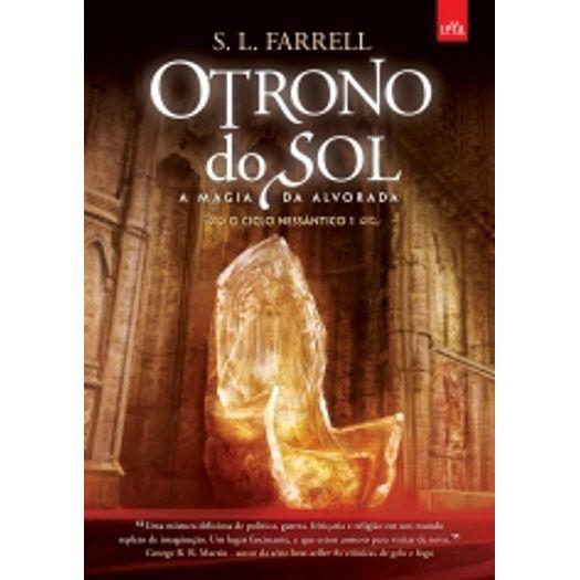 Trono do Sol, o - Livro 1 - Leya