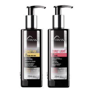 Truss Professional Curly Kit - Shampoo + Spray Kit