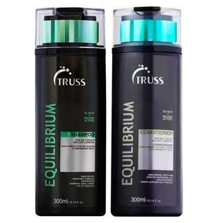Truss Professional Equilibrium Kit - Shampoo + Condicionador Kit