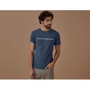 Tshirt Hoje Azul - P