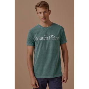 Tshirt Match Point Verde - G