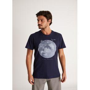 Tshirt Silk Vira Noite Azul Marinho G