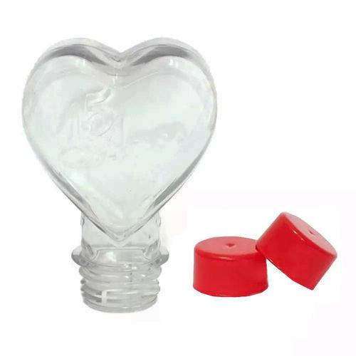 Tubete Coração 15 Anos Pet 100 Ml Tampa Vermelha - 10 Unidades