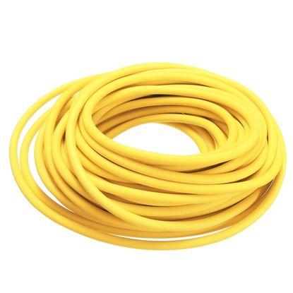 Tubo Elástico de Látex Biosani Nº 201 15mts Amarelo