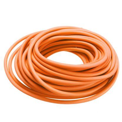 Tubo Elástico de Látex Biosani Nº206 15mts Laranja