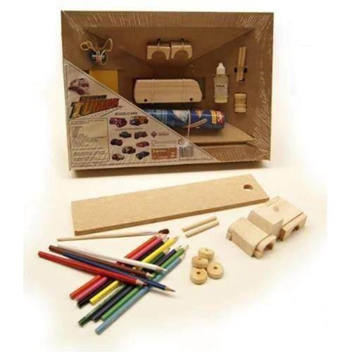 Tunado Pick Up- Mitra- Brinquedo Educativo- Construir e Pintar