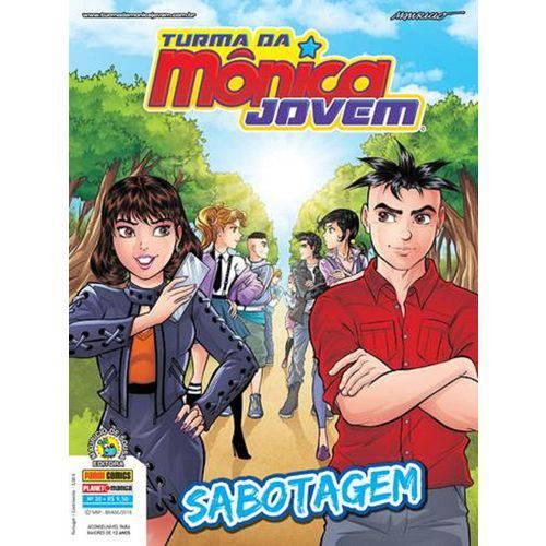 Turma da Monica Jovem 20 - Serie 2 - Panini
